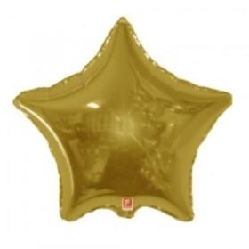 Folija zlatna zvezda