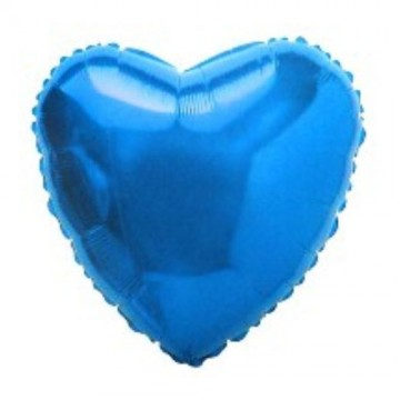 Folija plavo srce
