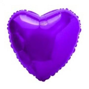 Folija ljubičasto srce