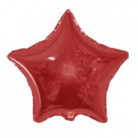 Folija zvezda crvena