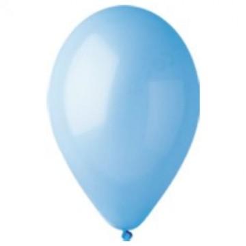 Pastel balon svetlo plavi