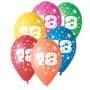 Štampani balon osamnaest