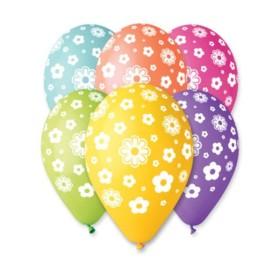 Štampani balon cvet