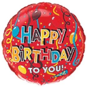 folija srećan rođendan 1