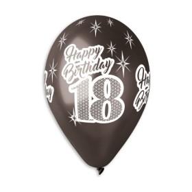 happy 18 black